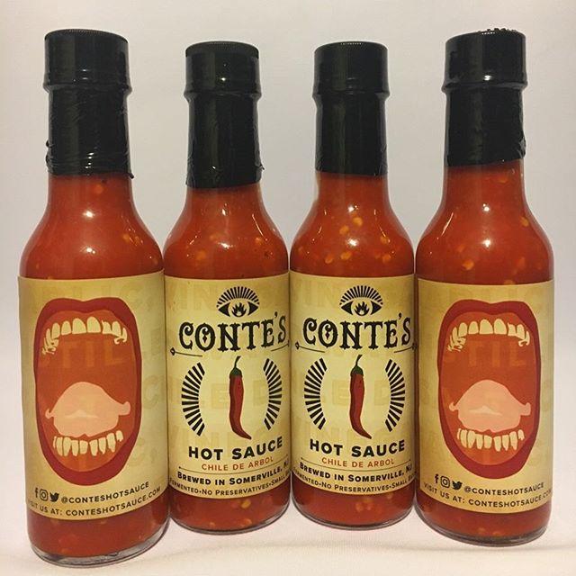 conte's hot sauce - small batch hot sauce Saturday