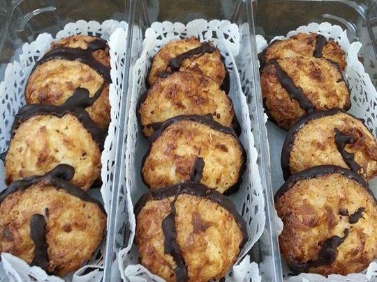 jersey girls bakery - coconut macaroons Sunday