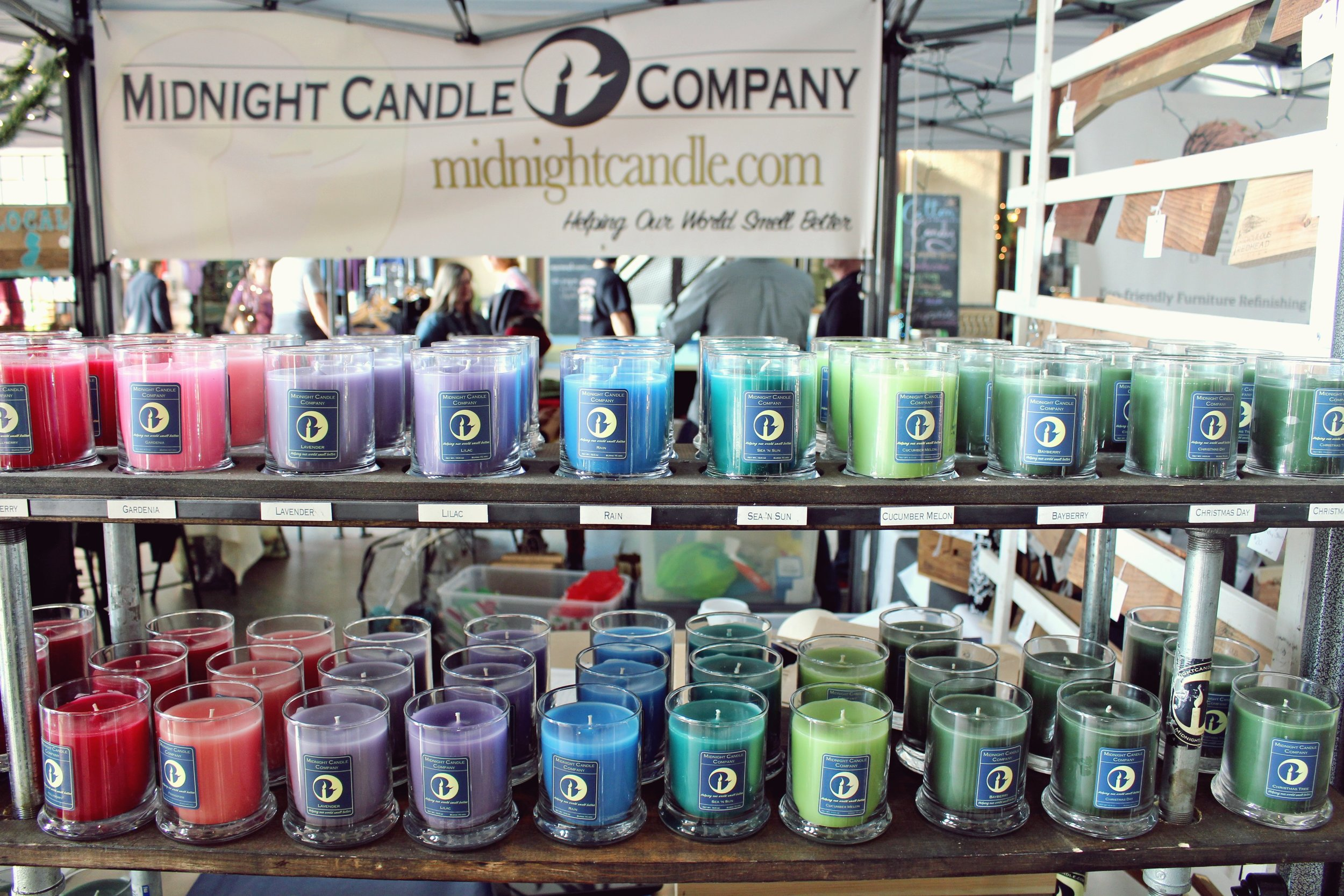 midnight candle co. - handpoured candles Sunday