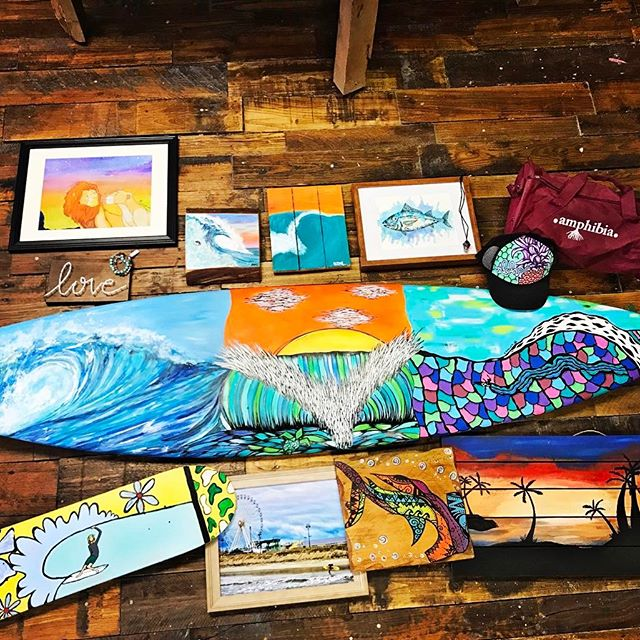 peace of wood -ocean/surf inspired art Sunday