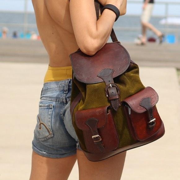 laguna - leather backpacks & handbags
