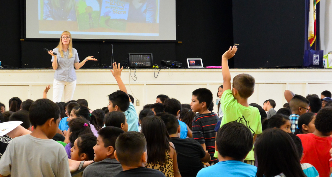 A visit to my first grade elementary school in San Diego County.