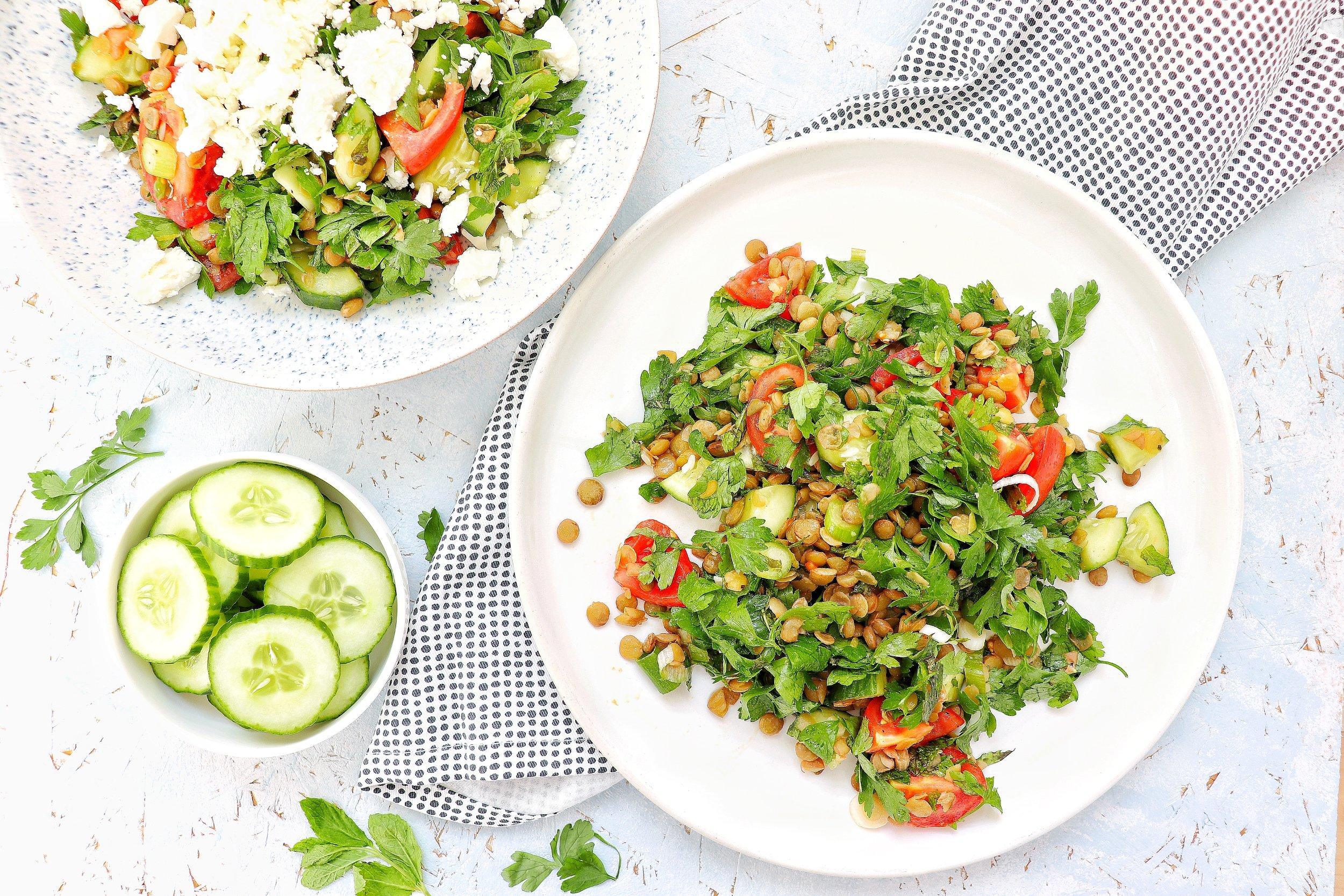 Lentil & parsley salad.JPG