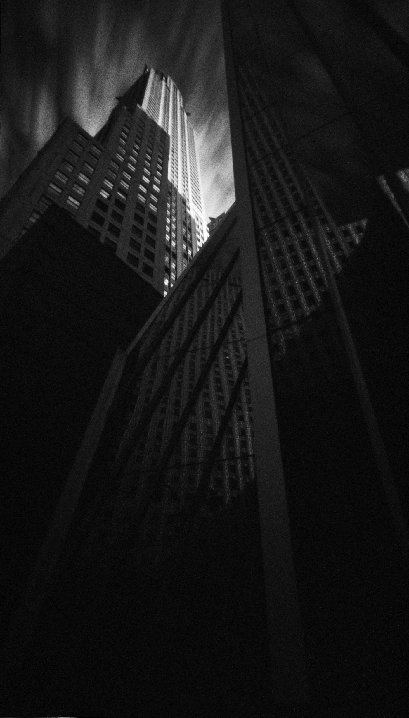 Chrysler Building Reflection