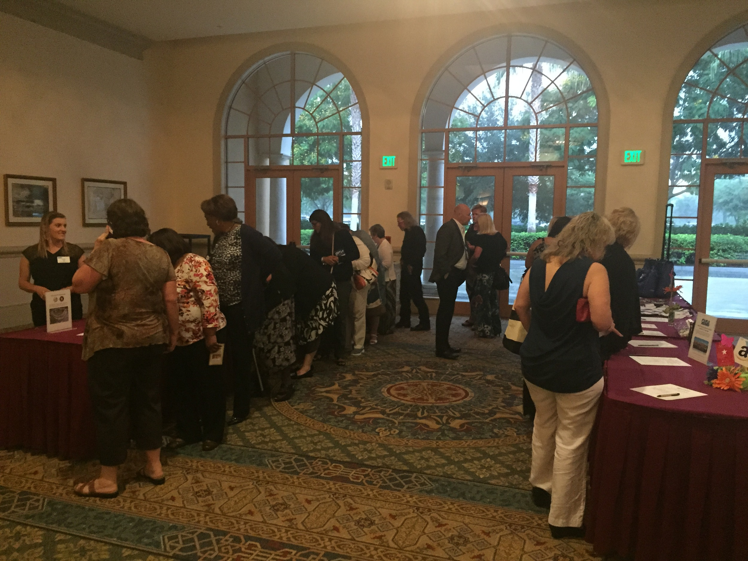 2015 Silent Auction at CMSA Annual