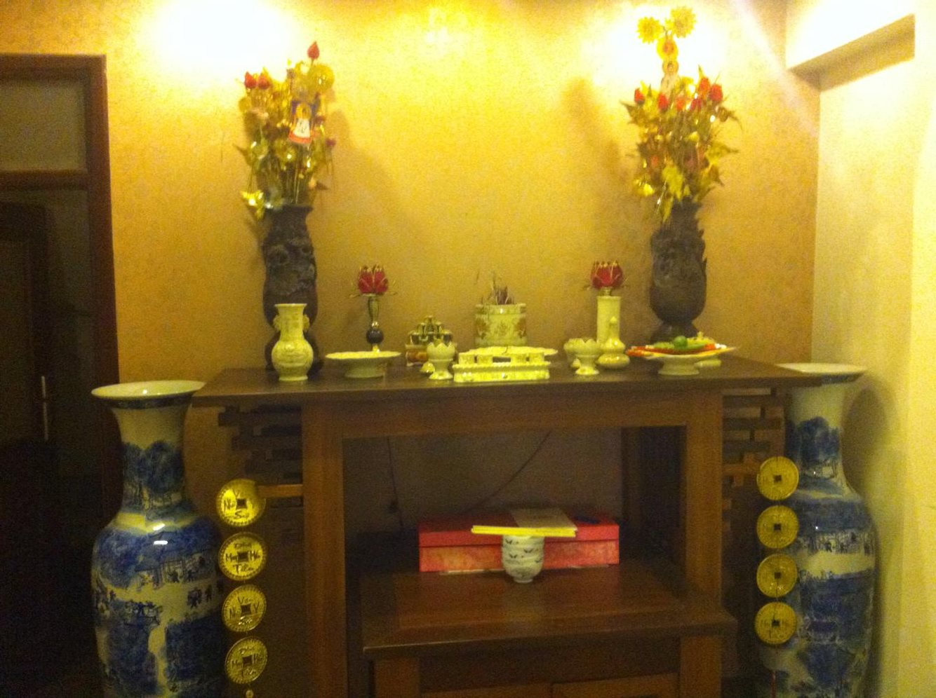 A Vietnamese Friend's Home Altar