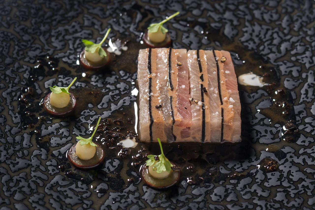 A dish from New York chef Gabriel Kreuther's restaurant featuring black truffle. Mr. Kreuther says access to locally grown truffles would 'change the quality landscape' in the American culinary world.