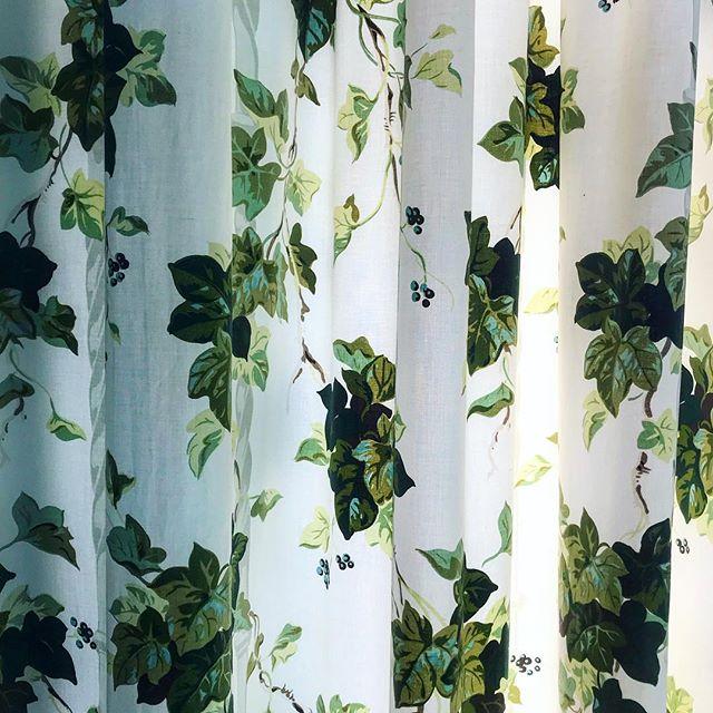 Delicious curtains.
