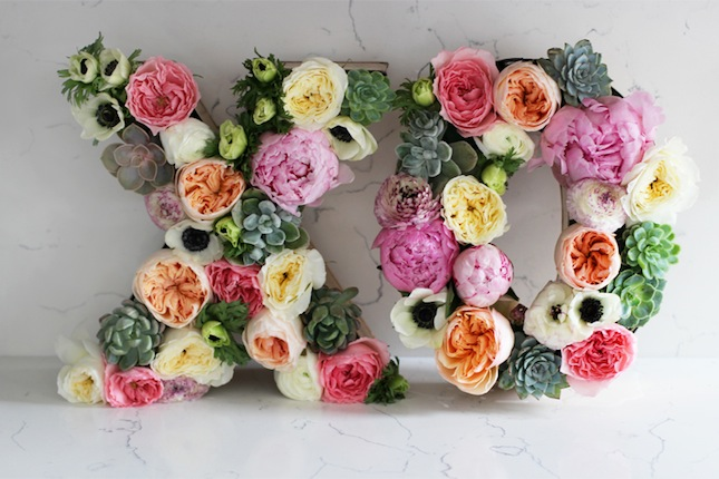 Specialty arrangements for the bridal shower or wedding reception