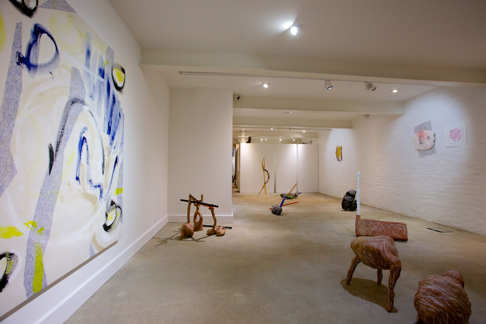 Installation view of Monster Rock Circle 2015