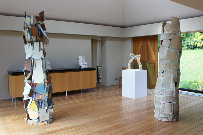 Blue and White, Installation shot