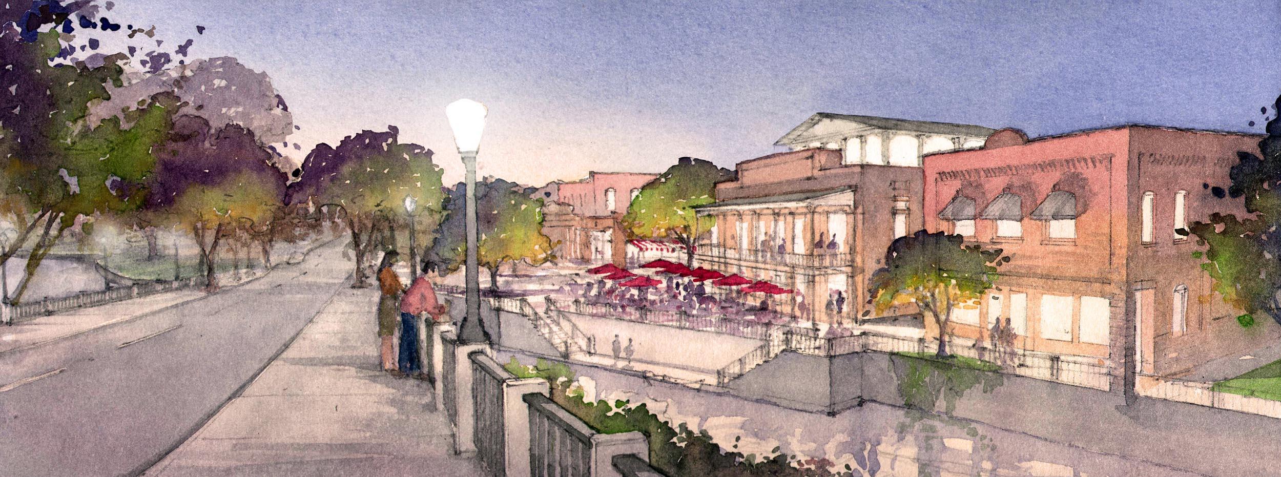 Mt. Olive St Bridge - Proposed