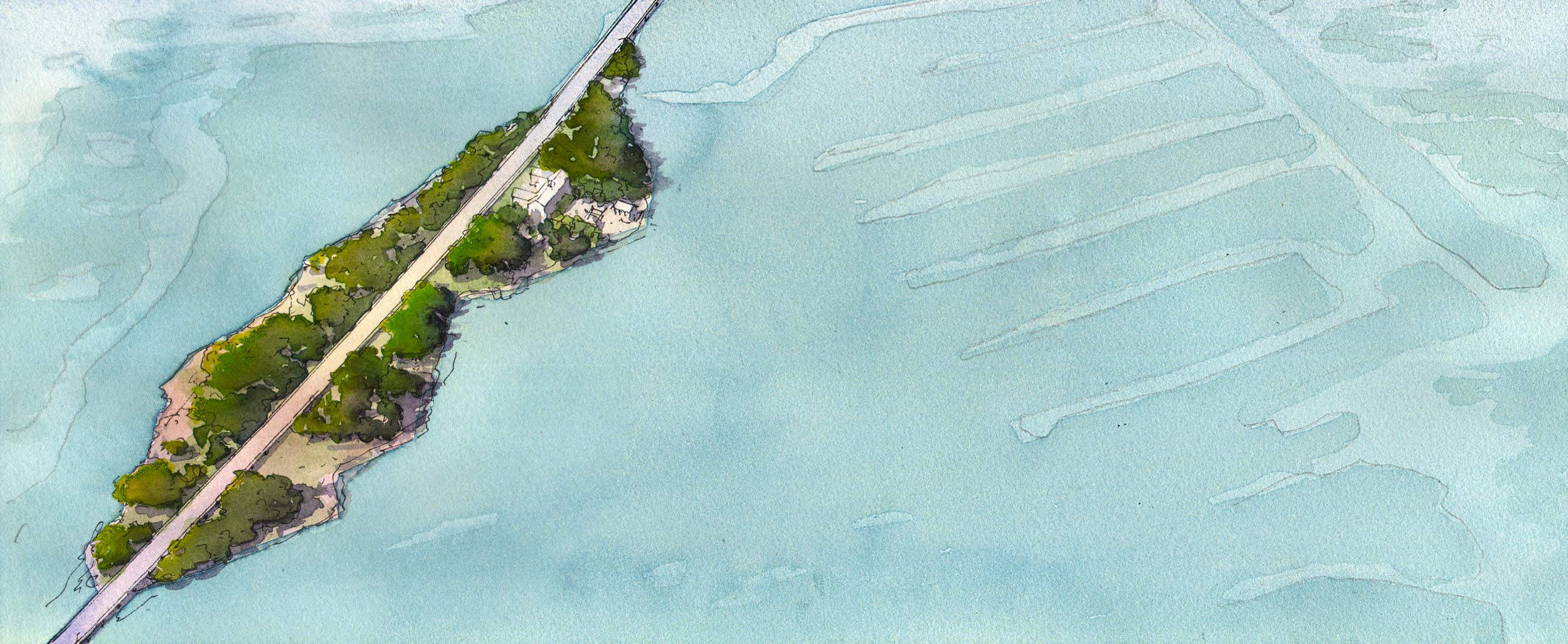 Florida Keys - 8 feet of Sea Level Rise