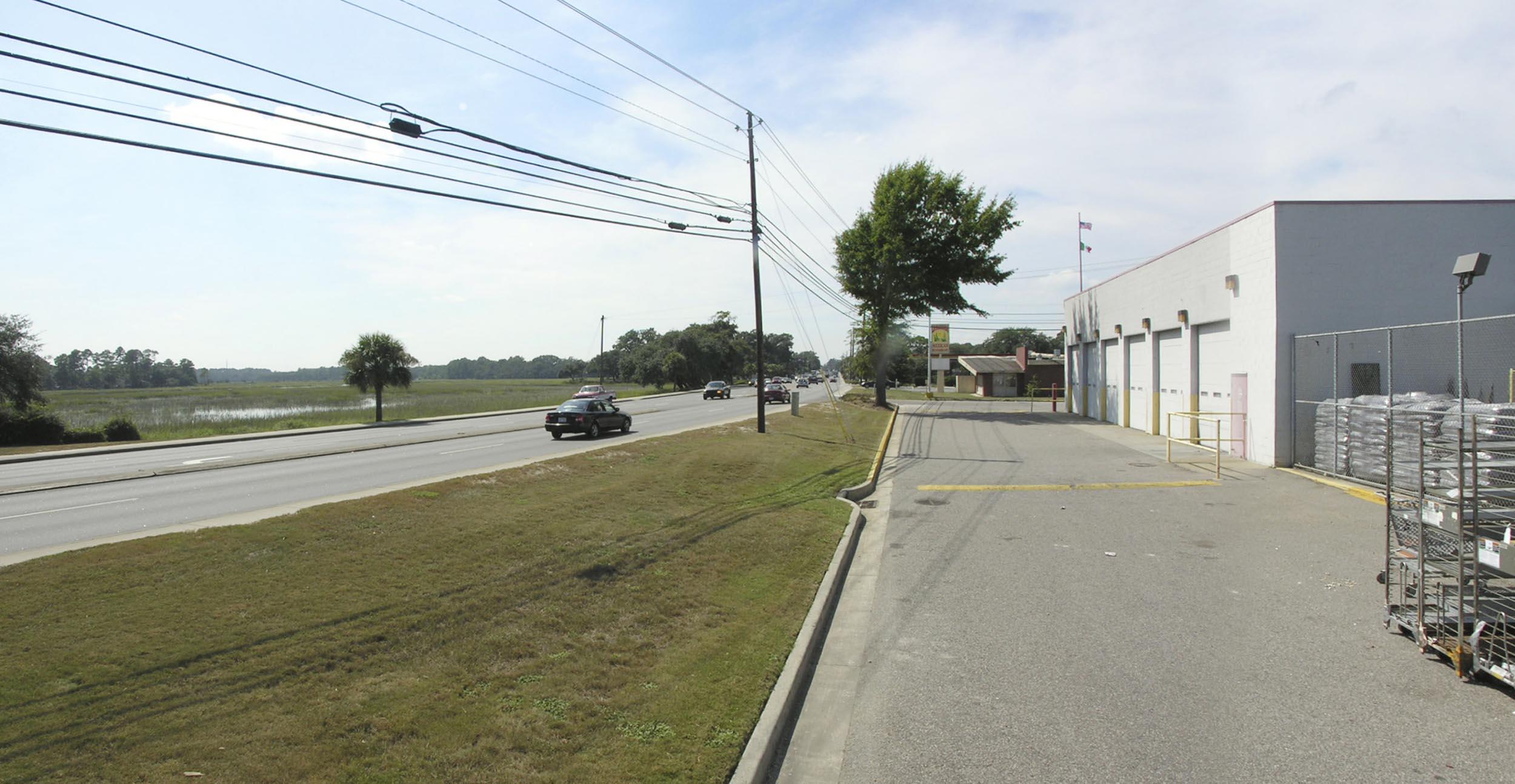 Boundary Street - existing (2005)