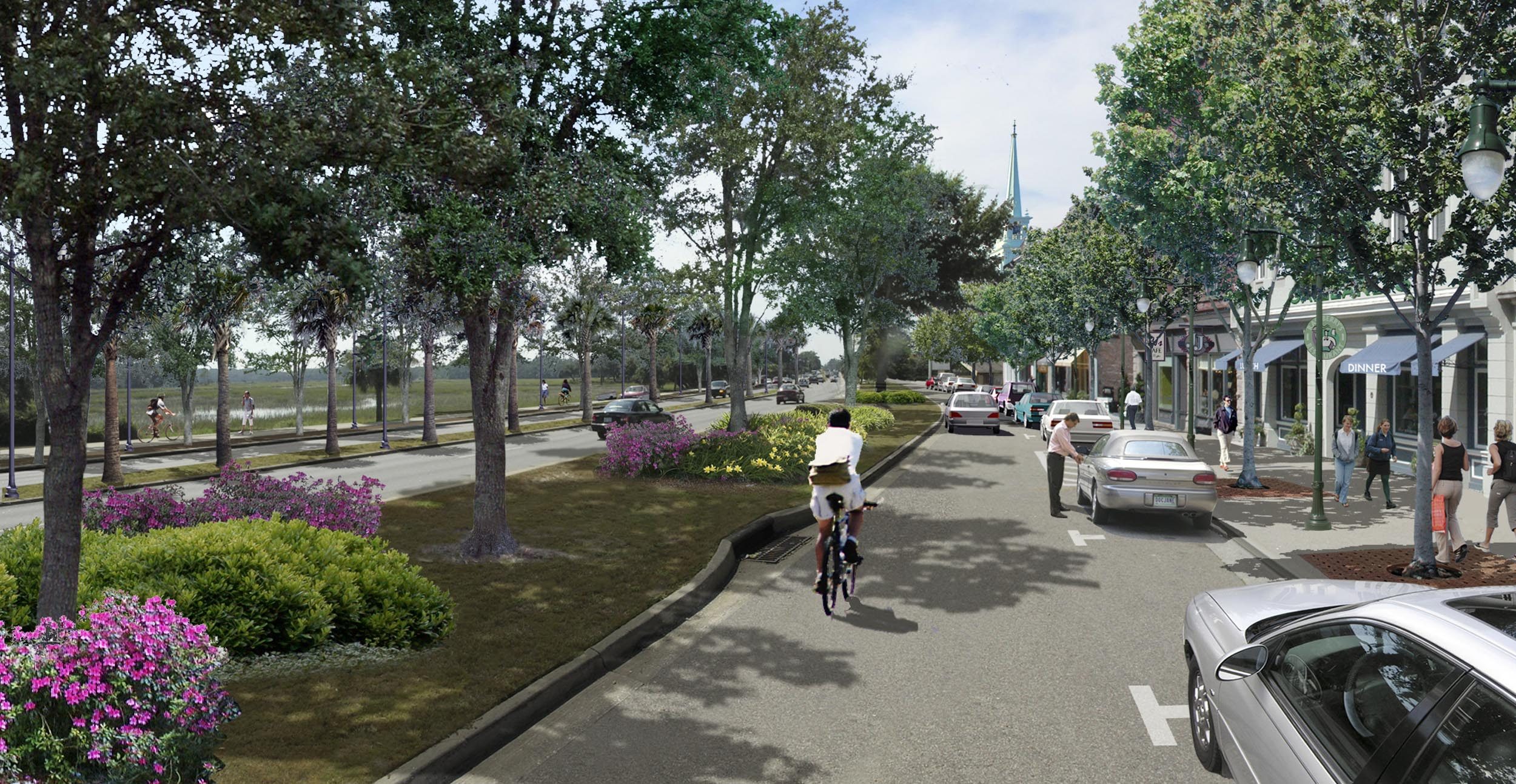Boundary Street - private development follows public investment. Image by Urban Advantage