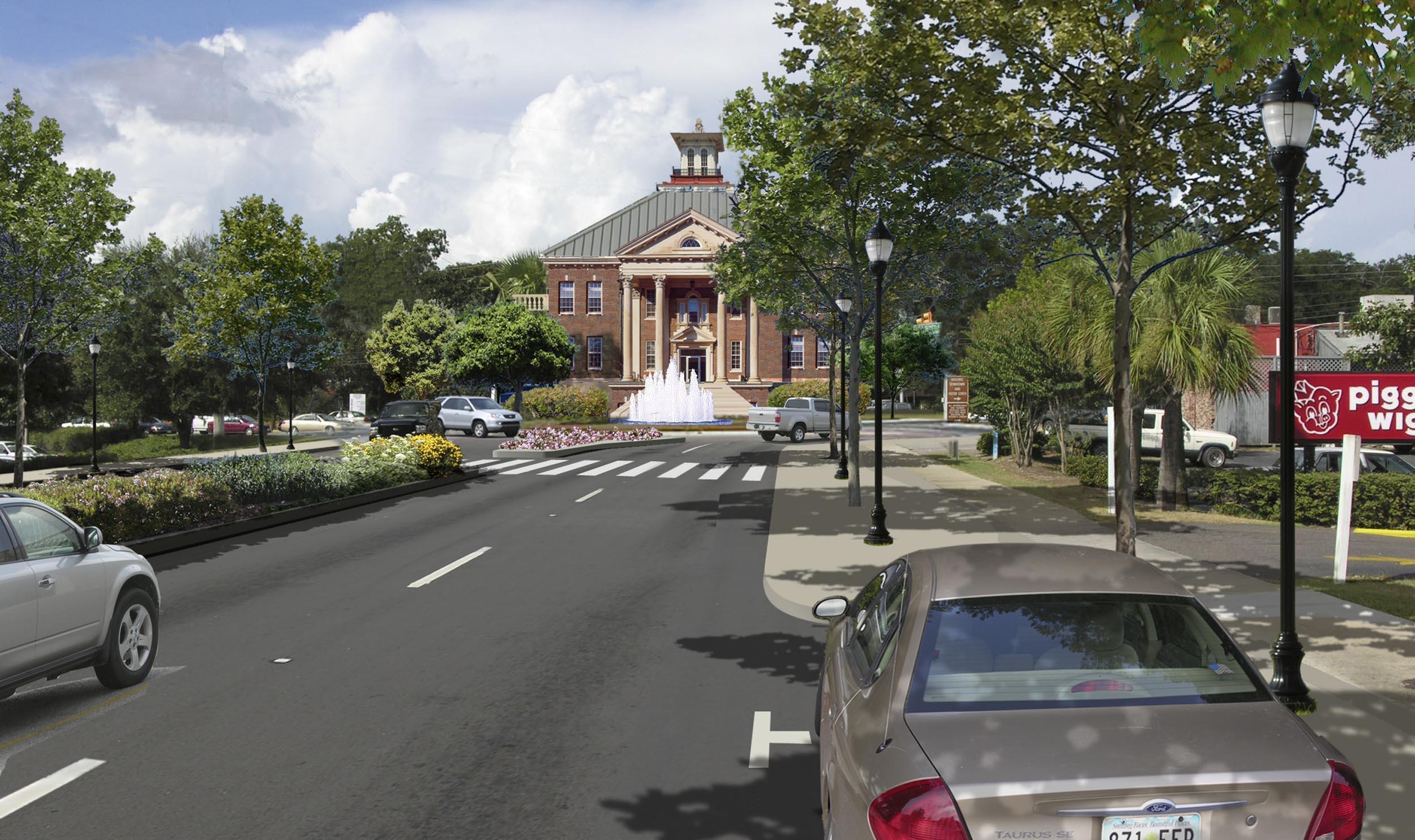 Ribaut Road -Initial street improvements. Image by Urban Advantage