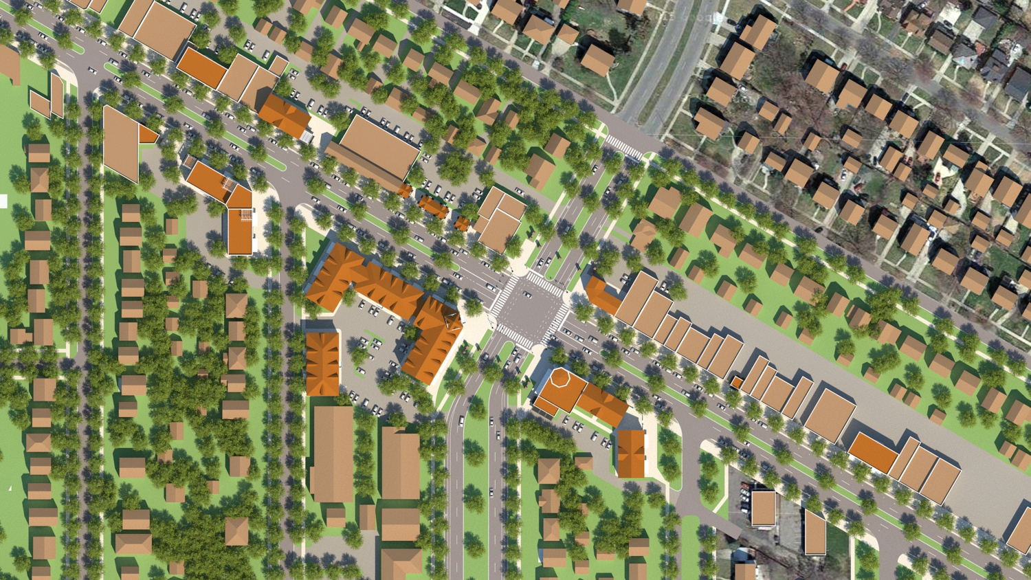 Grand River Ave & Outer Drive - Proposed Plan