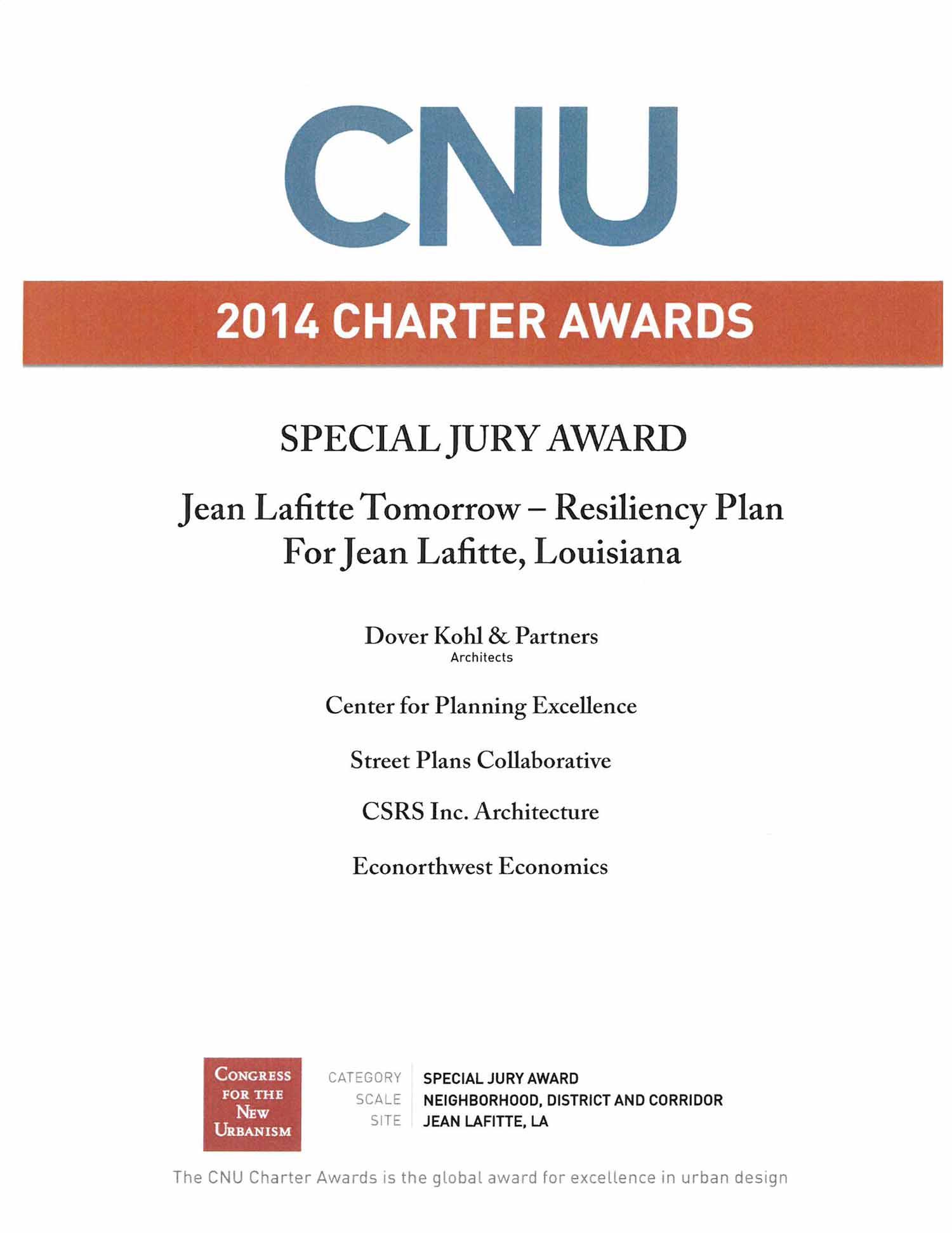 2014- CNU- Chapter Awards-Special Jury Award- Jean Lafitte Tomorrow-Resiliency Plan For lafitte-louisiana.jpg