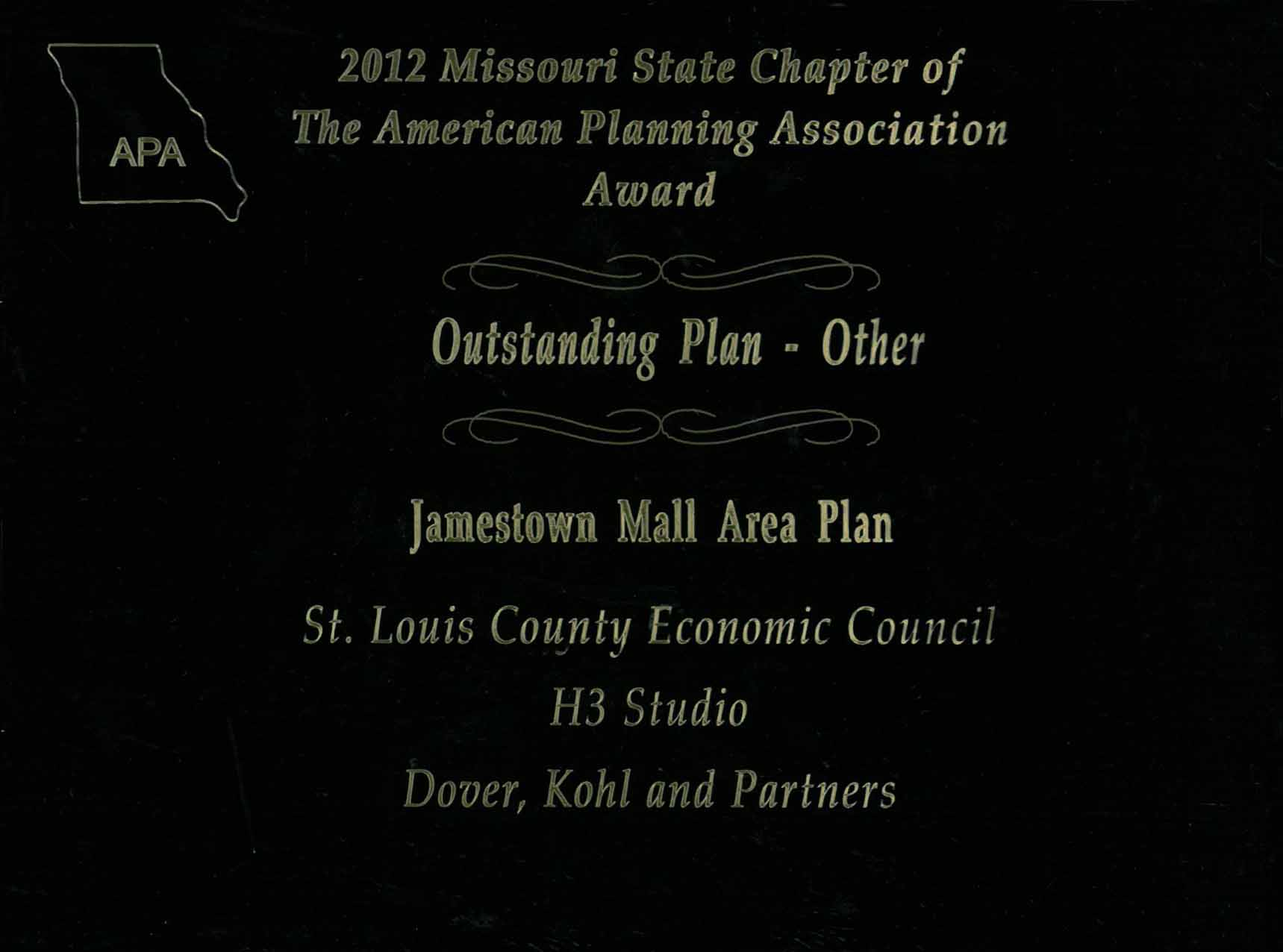 2012-Outstanding Plan Award for Jamestown Mall Area Plan.jpg