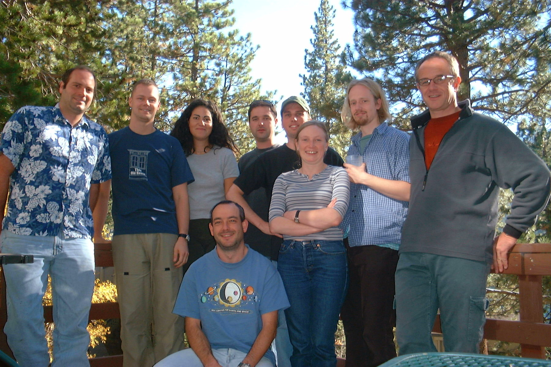 The Earliest Gladstone Group - Summer 2001