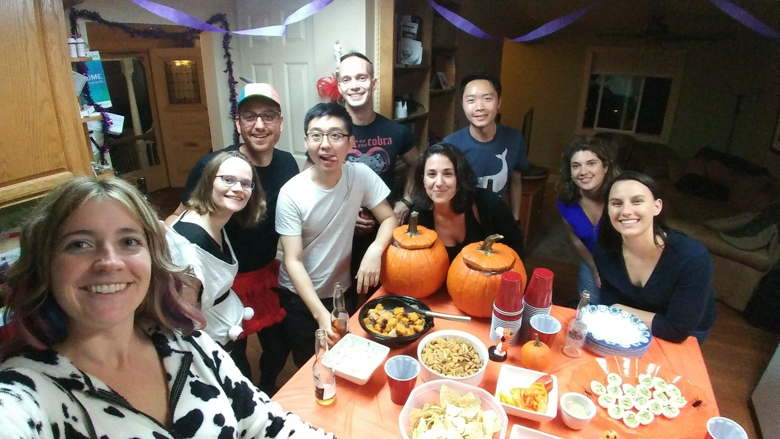 Halloween party, Oct 2017