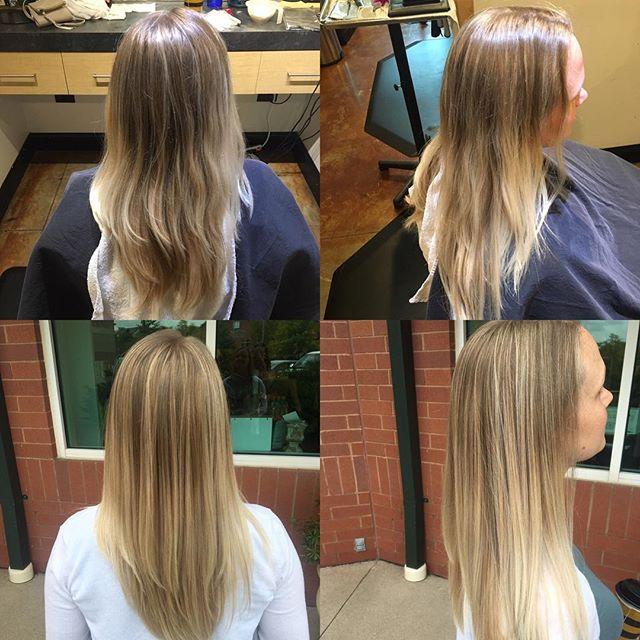 Subtle, golden-blonde, balayage, touch-up by @taylorrneacoleman!! #balayage #blonde #blondehair #beautiful #hair #hairinspo #aveda #redken #joico #thatblendthough @modernsalon