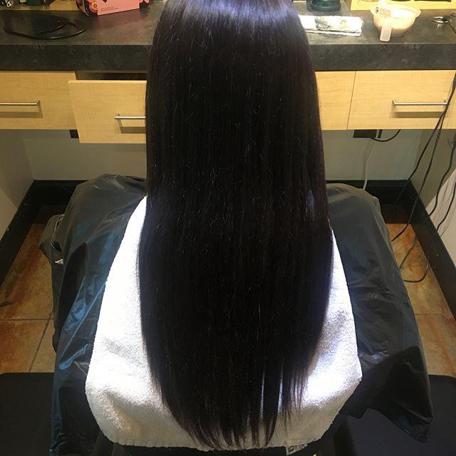 Our @jenniferbozich done by our @taylorrneacoleman! Subtle caramel balayage to lighten up her dark locks. #balayage #caramel #fallhair #waves #curls #hairinspo #beforeandafter #modernsalon #hair #beautiful #cosmetology #hairstylist #weneedlovetoo @modernsalon
