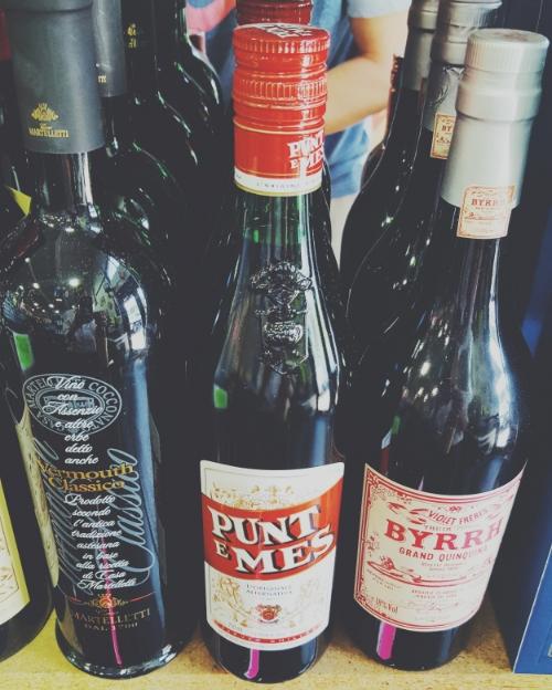 ASW Distillery - Atlanta craft whiskey & brandy distillery - Punt e Mes vermouth bottle for Americano cocktail
