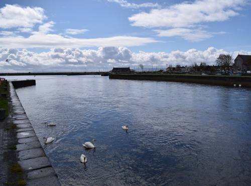 A view from Galway, Ireland, one of the main stops on the way to the Connemara Peninsula. Photo courtesy of Jess Hunt-Ralston at  Rose & Fig .