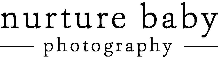 updated logo for nurture baby photography