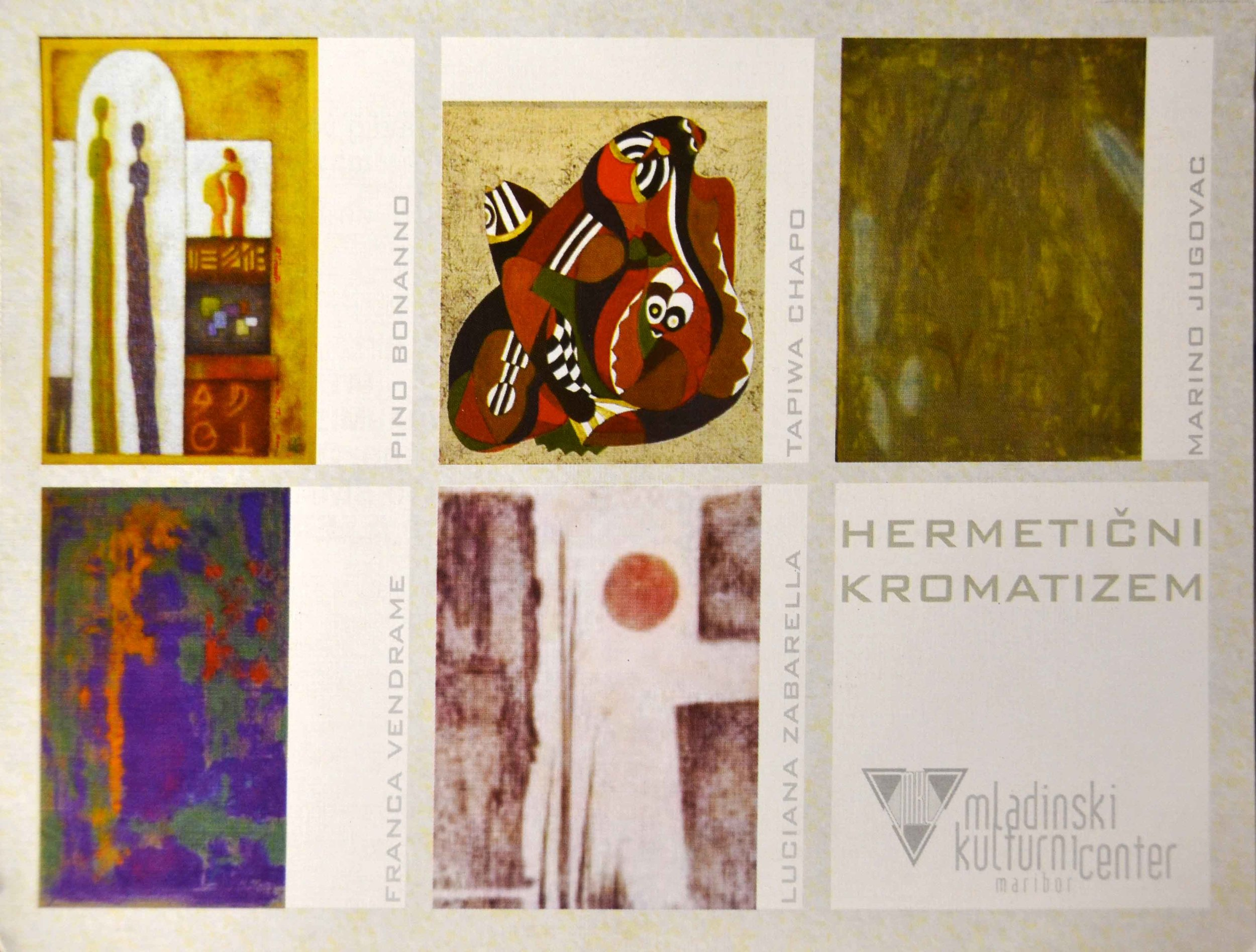 Mednarodna skupinska razstava umetnikov gibanja Hermetični kromatizem