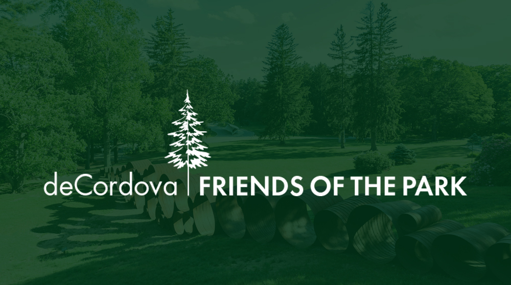 """ThIS Logo showcases an illustration of a tree on deCordova's grounds — representING a society for those who have given generously and are considered a """"Friend of the Park."""""""