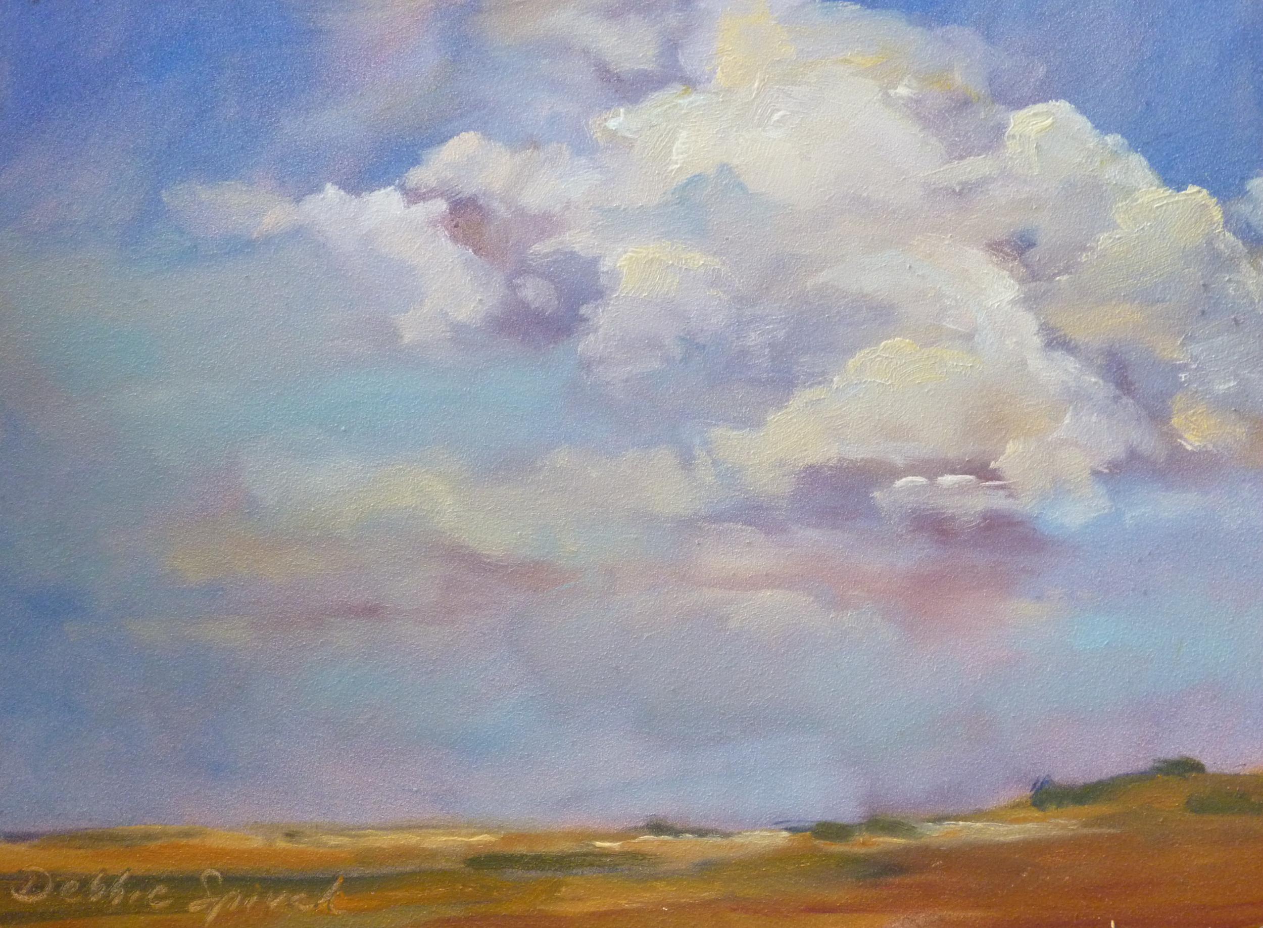Prairie Sky - 9x12 oil