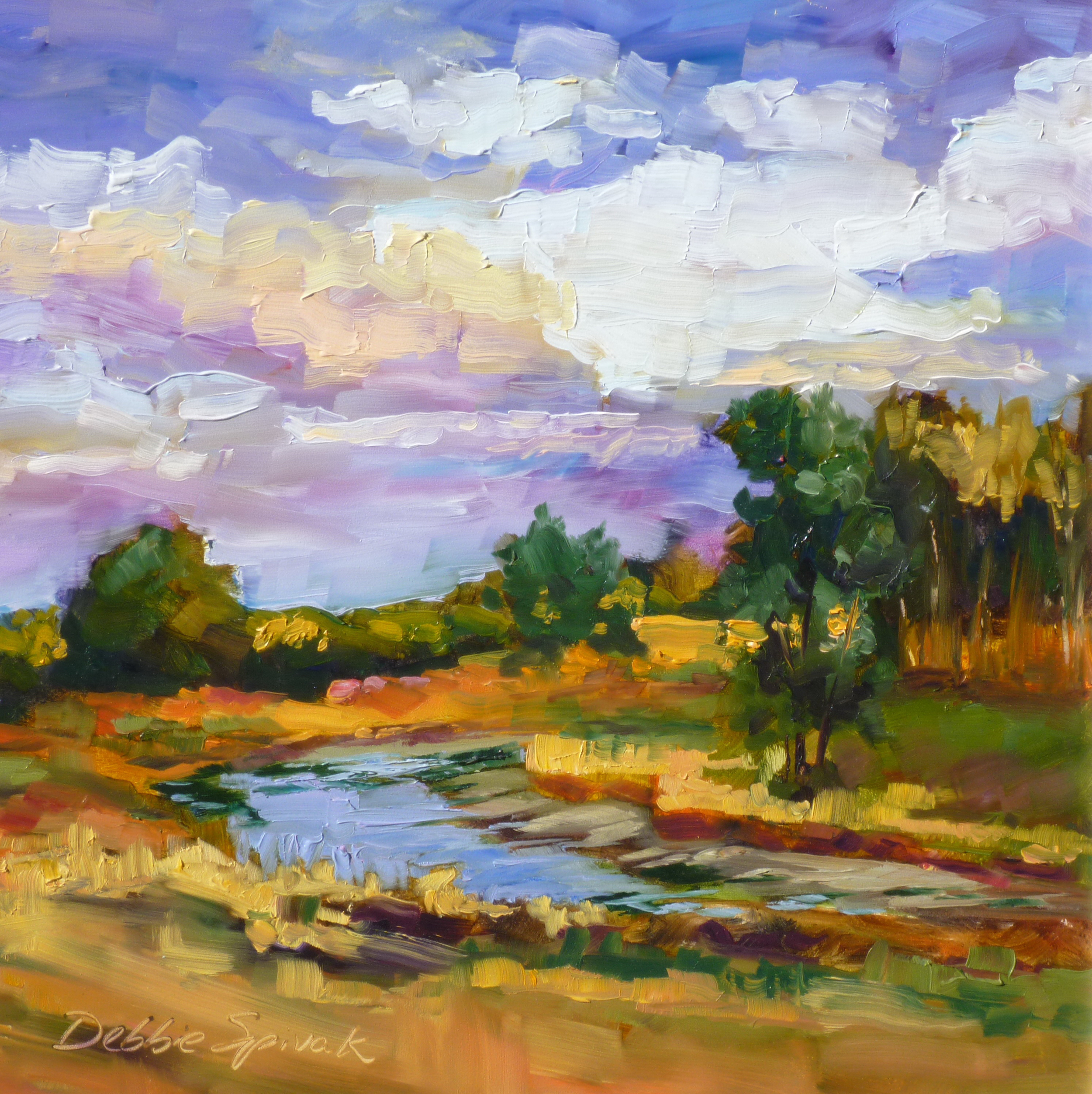 Prairie Creek - 12x12 oil