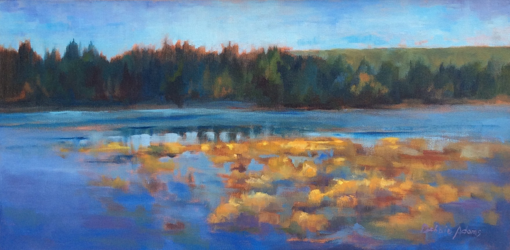 Golden Glenmore - 12x24 oil