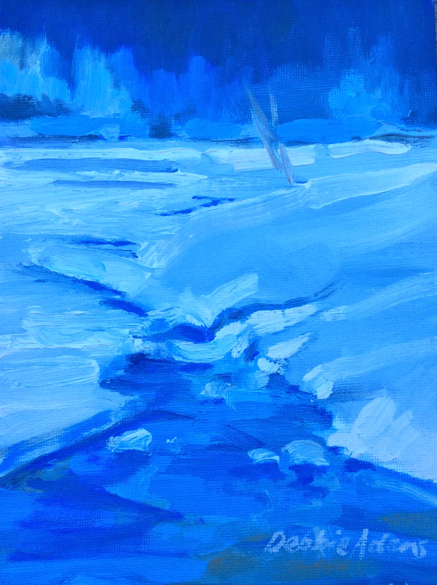 Frozen 6x8 Oil