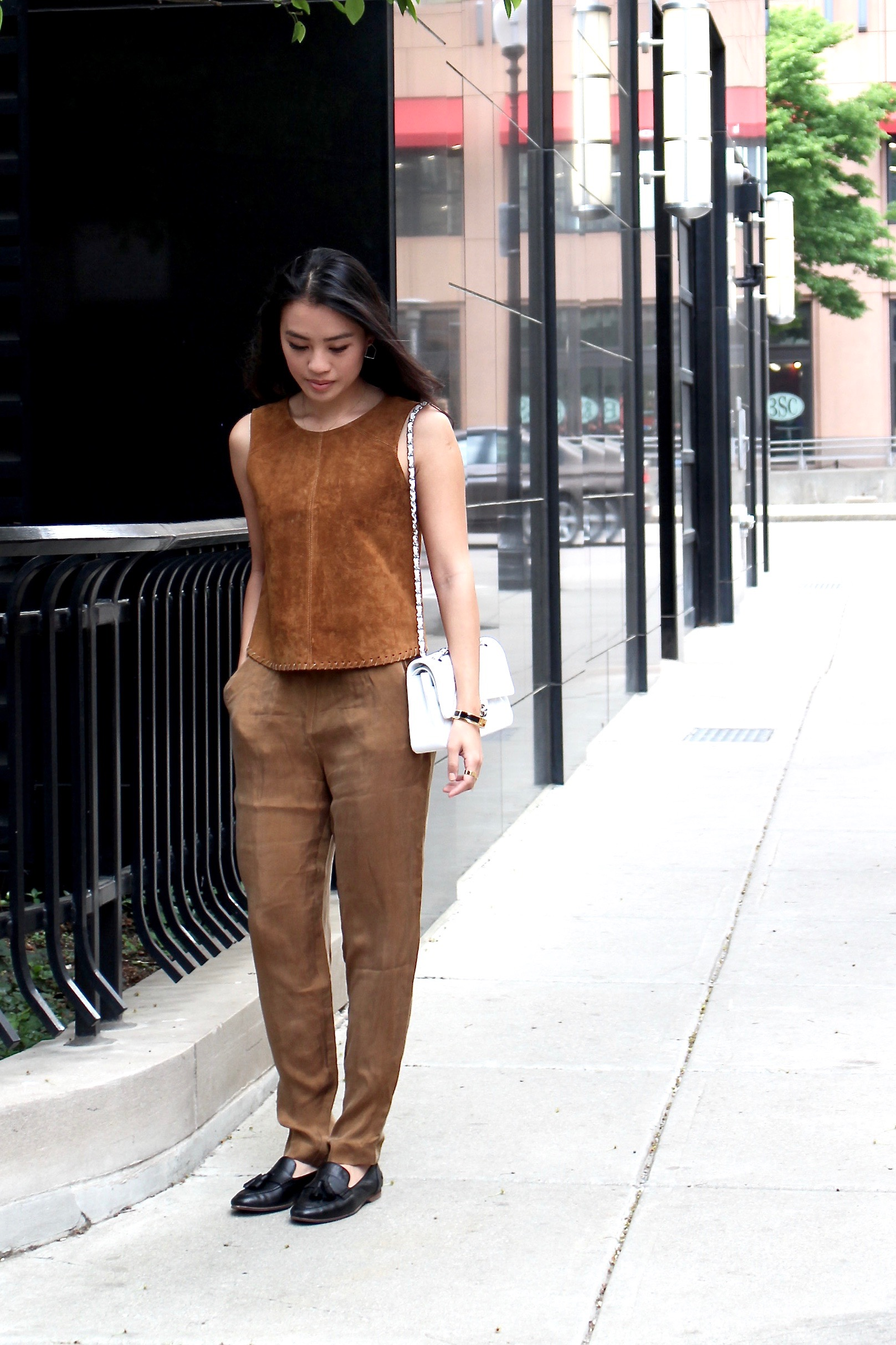 Just Goh With It-Outfit-Zara-Brown-Suede-Top-hm-Pants-lanvin-loafers-4.jpg