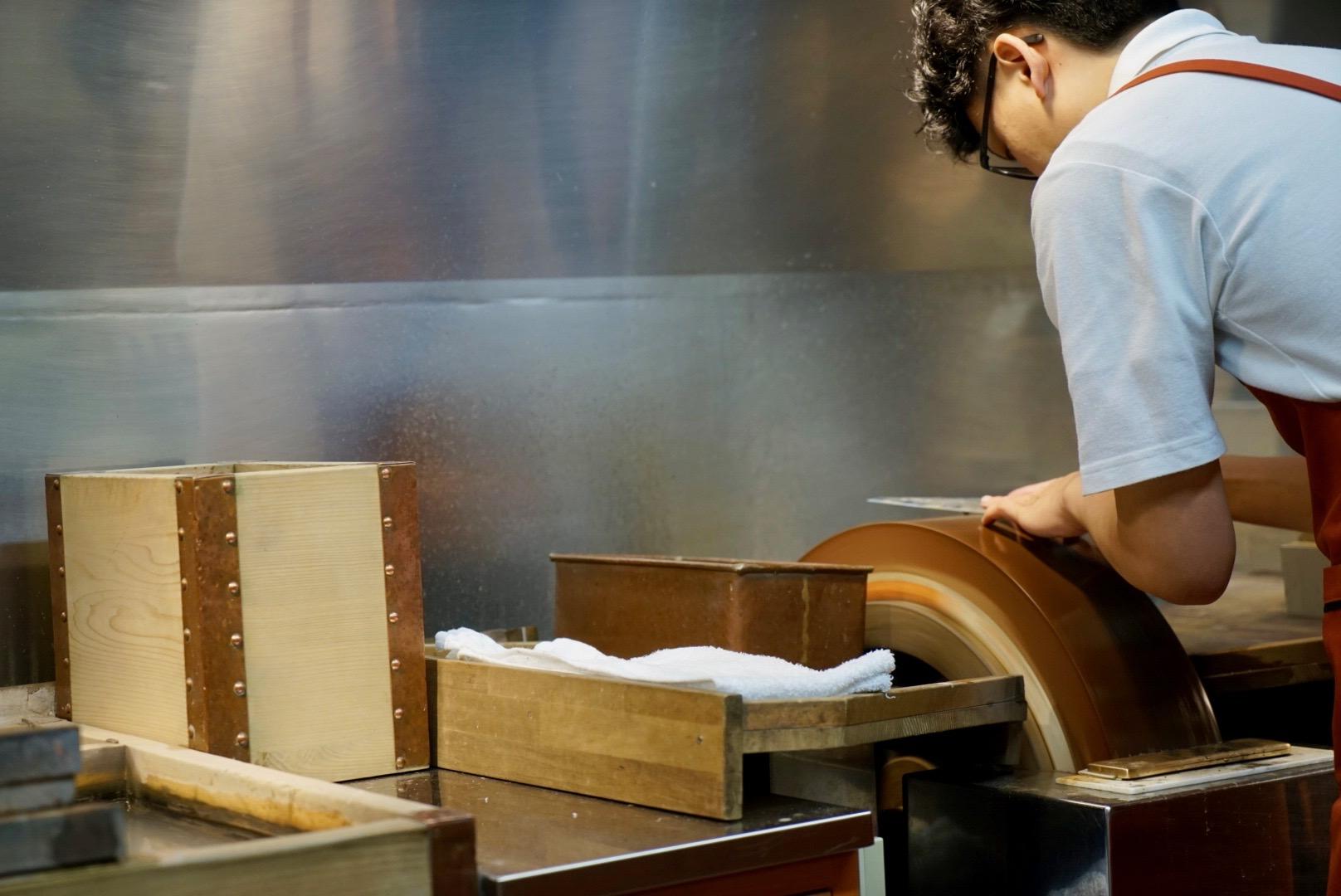 aritsugu knives  - it is  so  sharp.