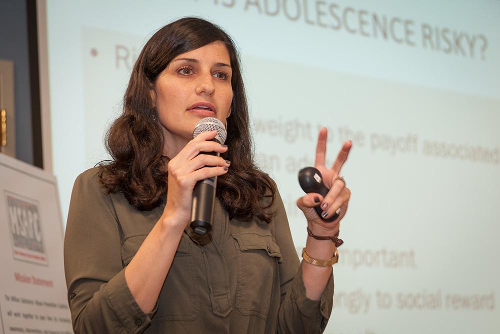 Dr. Margie Skeer presents at the MSAPC September 2016 meeting
