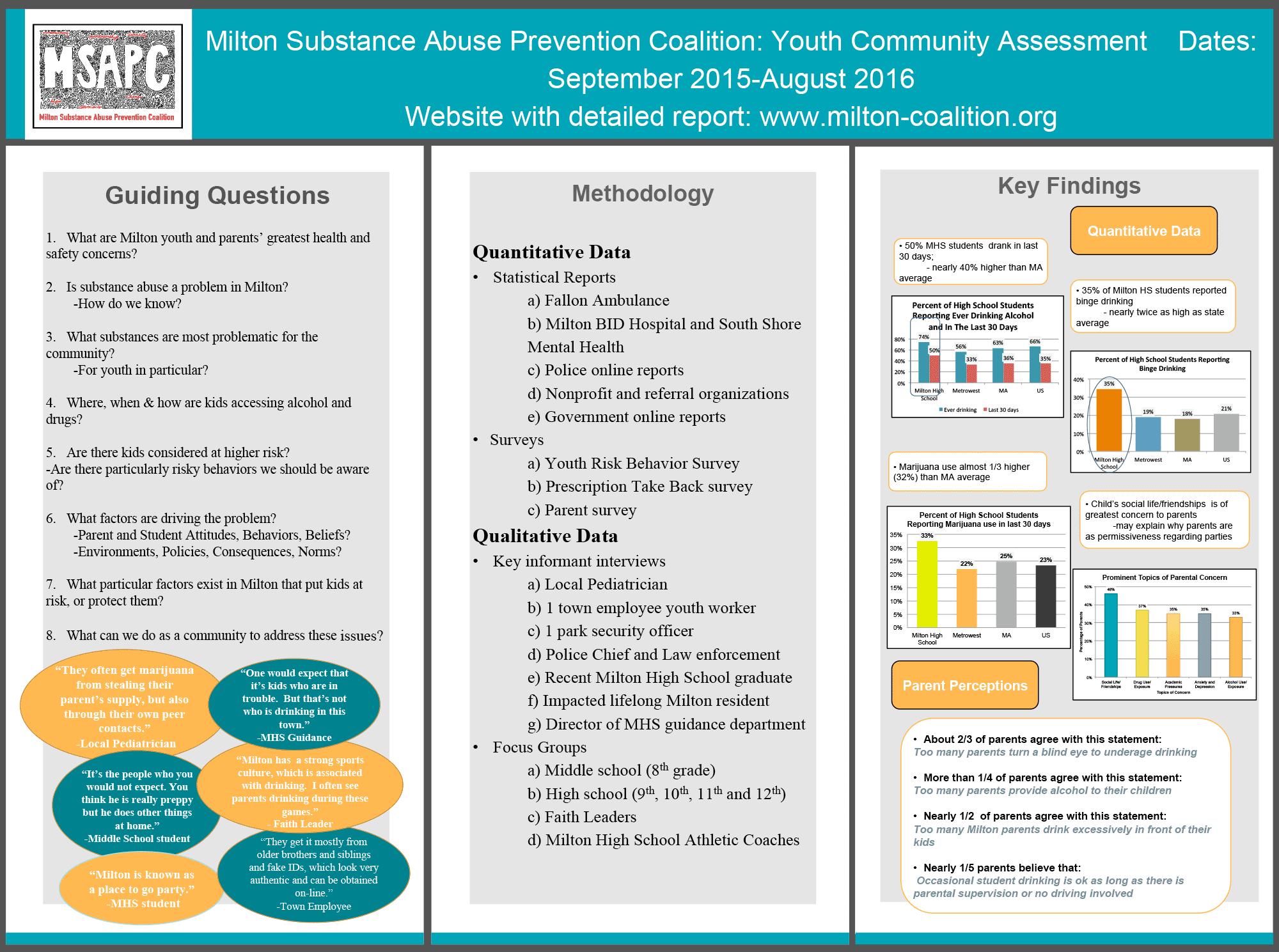 MSAPC Community Assessment Overview