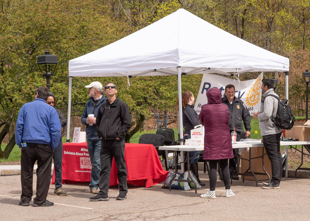 MSAPC teamed up with the Milton Rotary Club to provide information and free medication disposal kits at Prescription Drug Takeback Day April 27, 2019