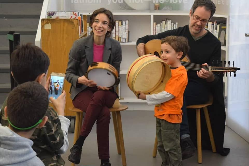 'Hey Youth!' - Project 'Hey Youth!' introduces public-school children and teens to Arabic music and instruments in a fun, interactive setting involving singing, movement and play. Our goal is to inspire curiosity, creativity, meditation and expression!