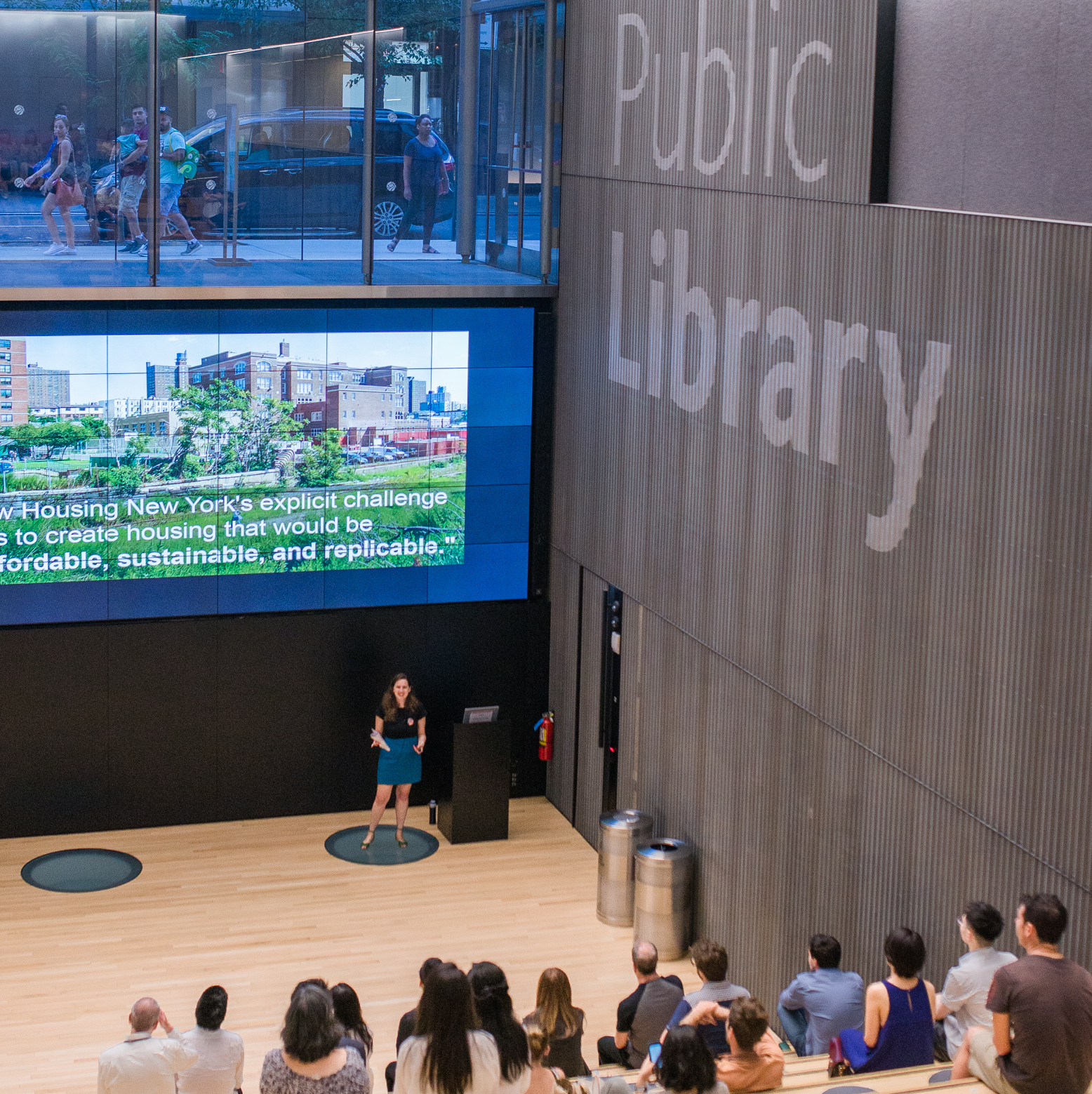 Architecture for Health Lecture at the New York Public Library
