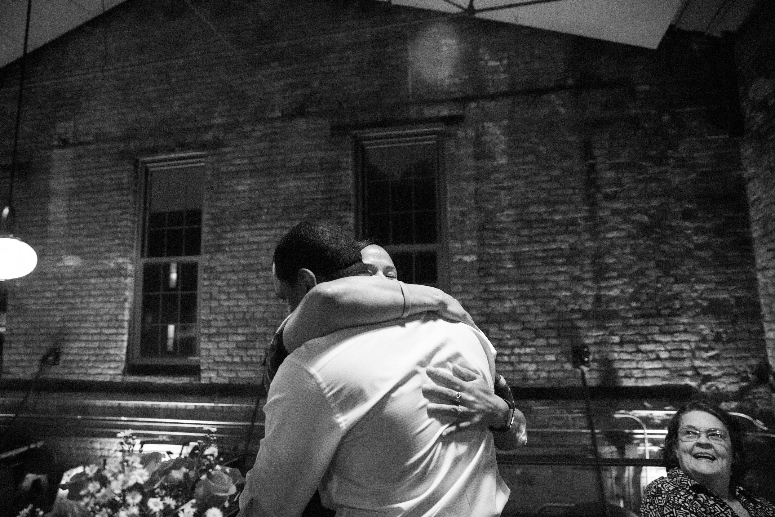 Clipper Mill Woodberry Kitchen Wedding Proposal
