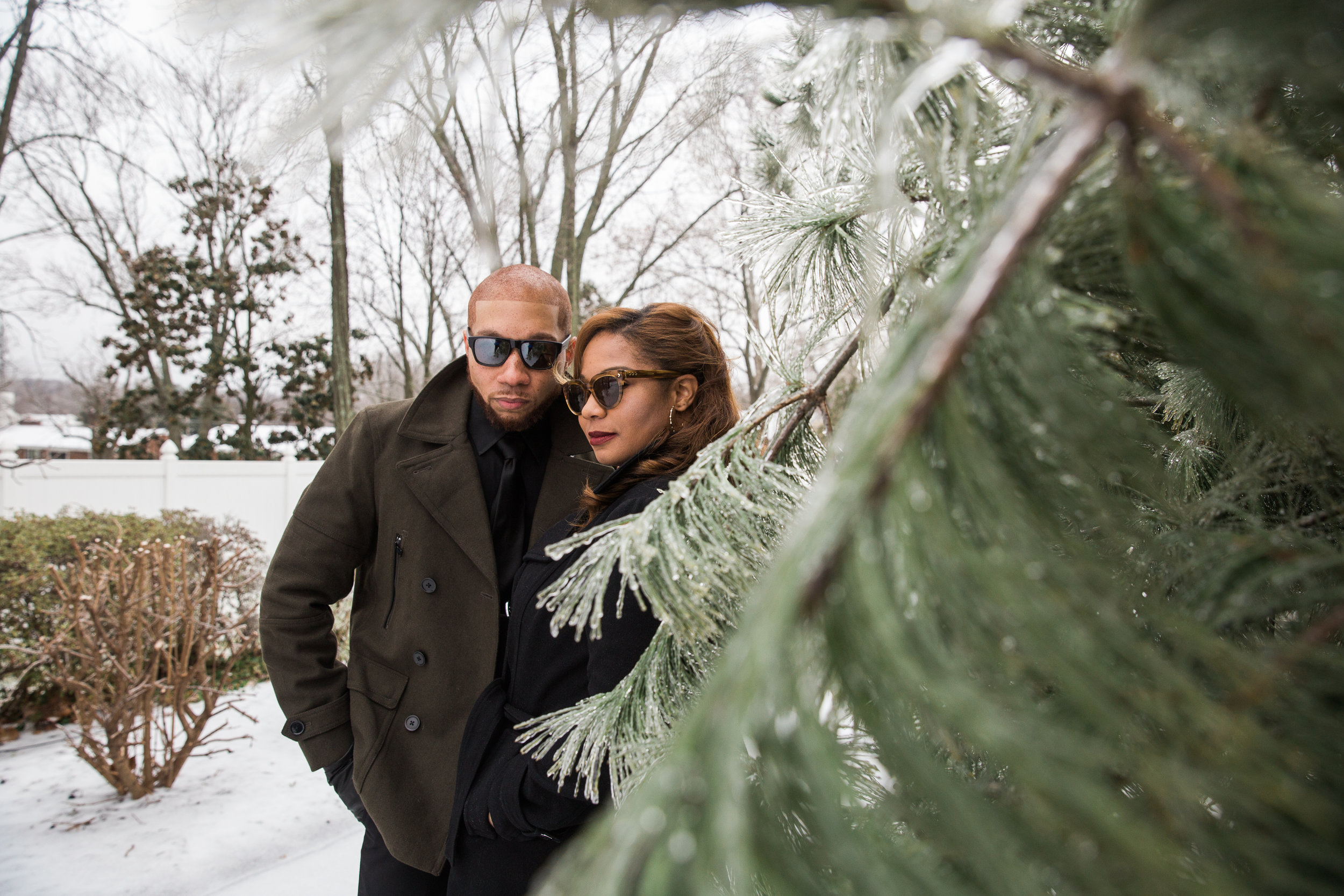 Winter Photography Session in Maryland