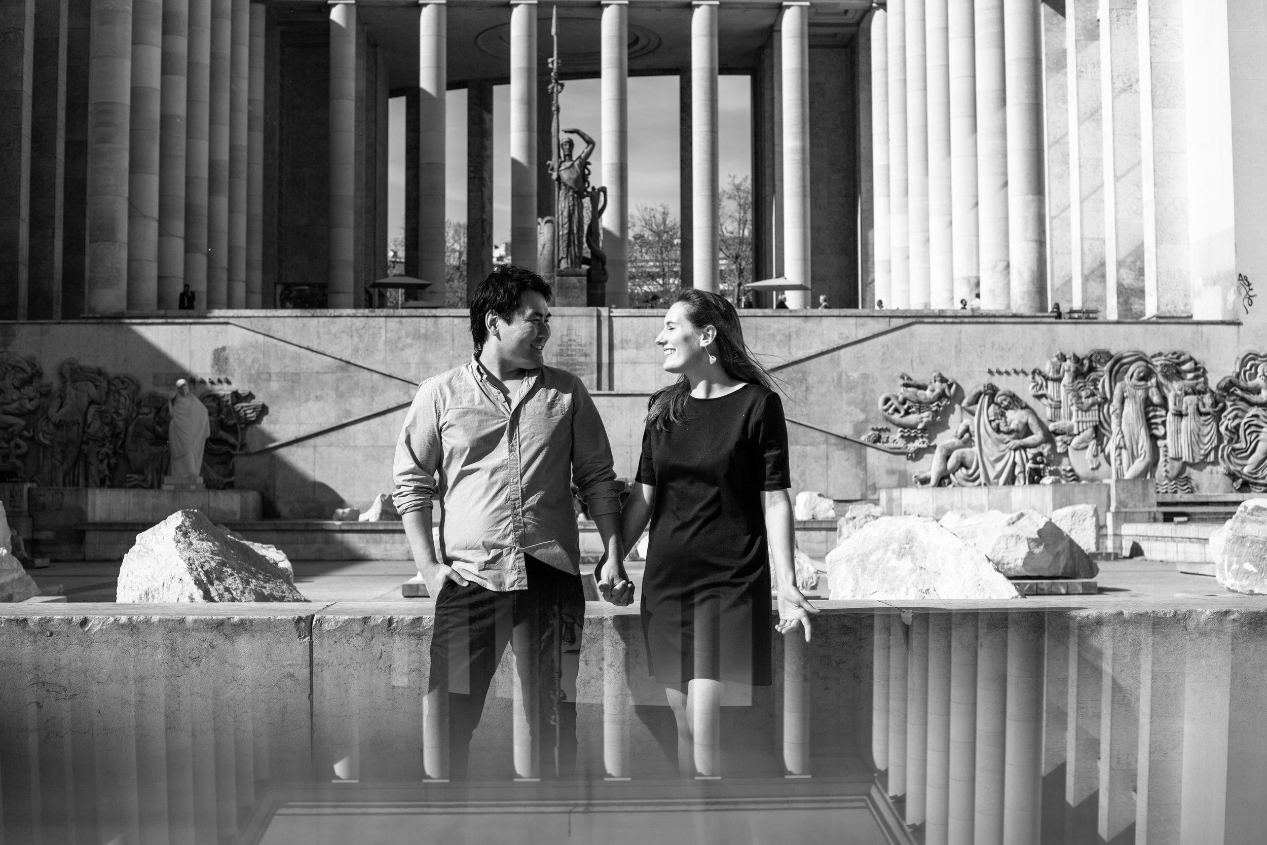 Baltimore Destination Wedding Photographers in Paris, France Palais de Tokyo