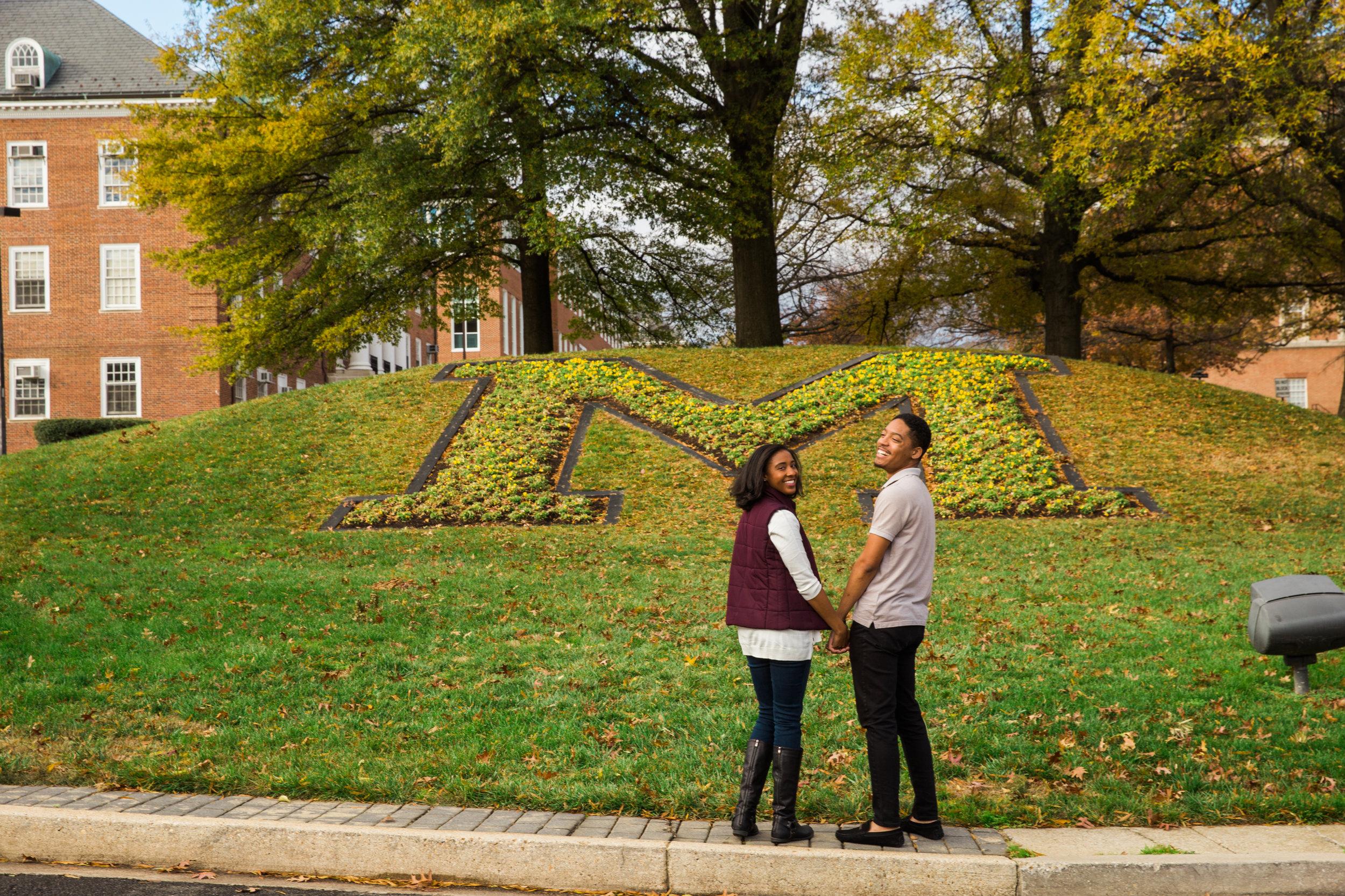 University of Maryland Engagement Session Photography-2.jpg