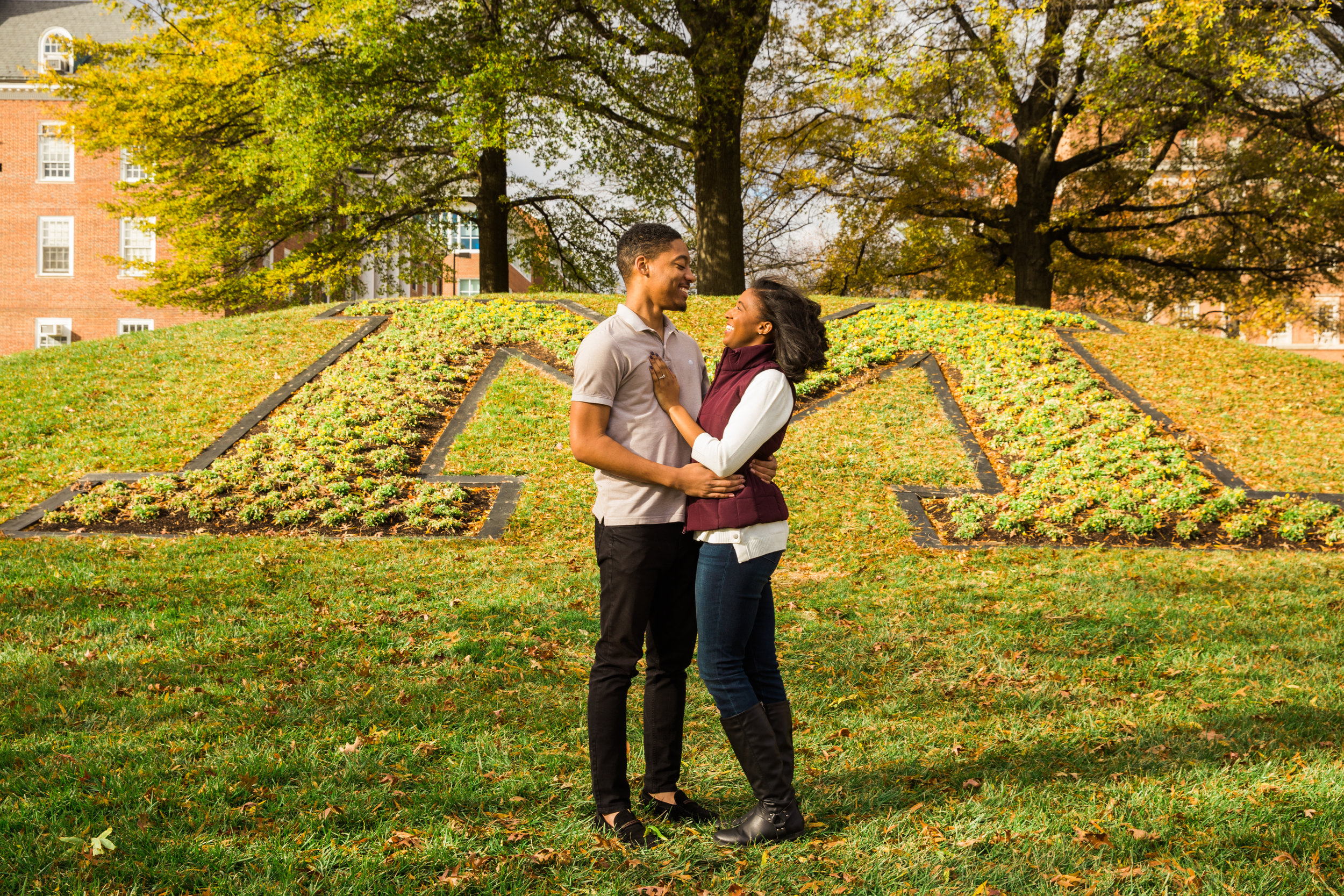 University of Maryland Engagement Session Photography-6.jpg