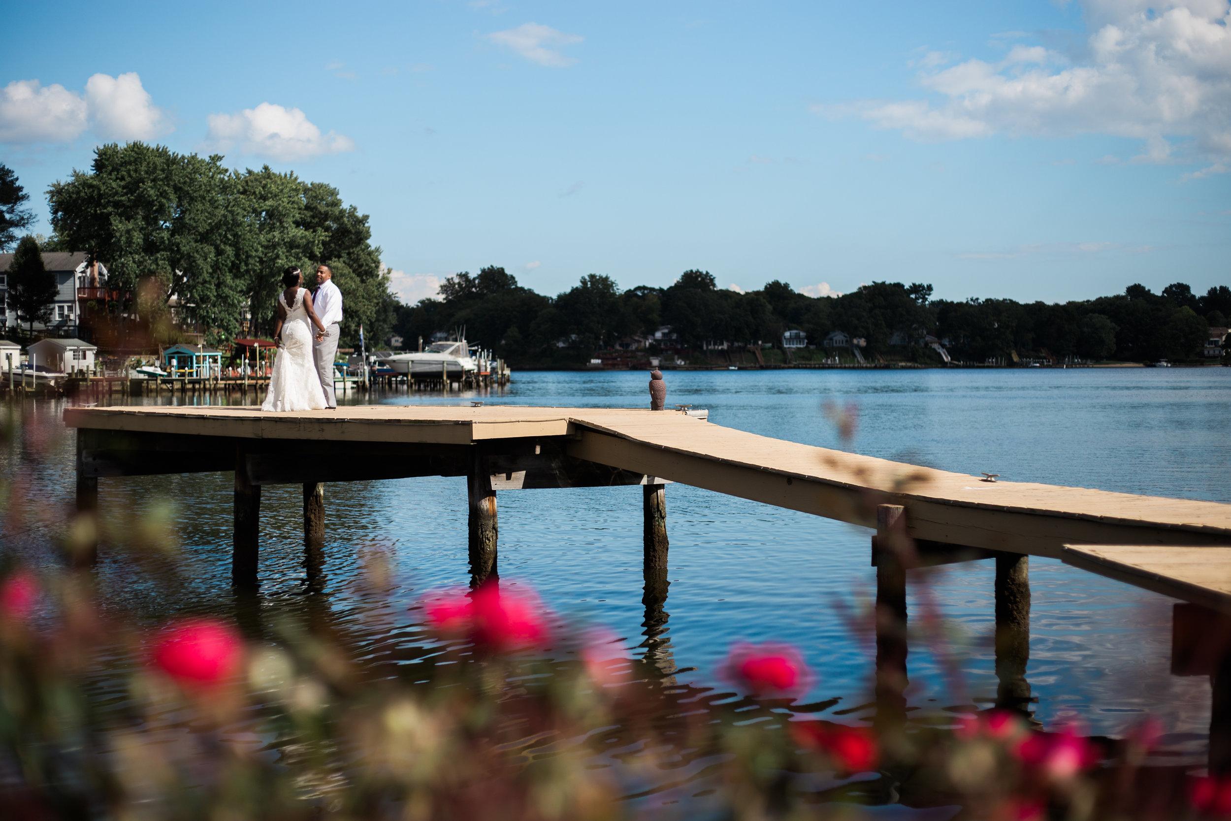 Bleues on the water Wedding Maryland Photographers Megapixels Media