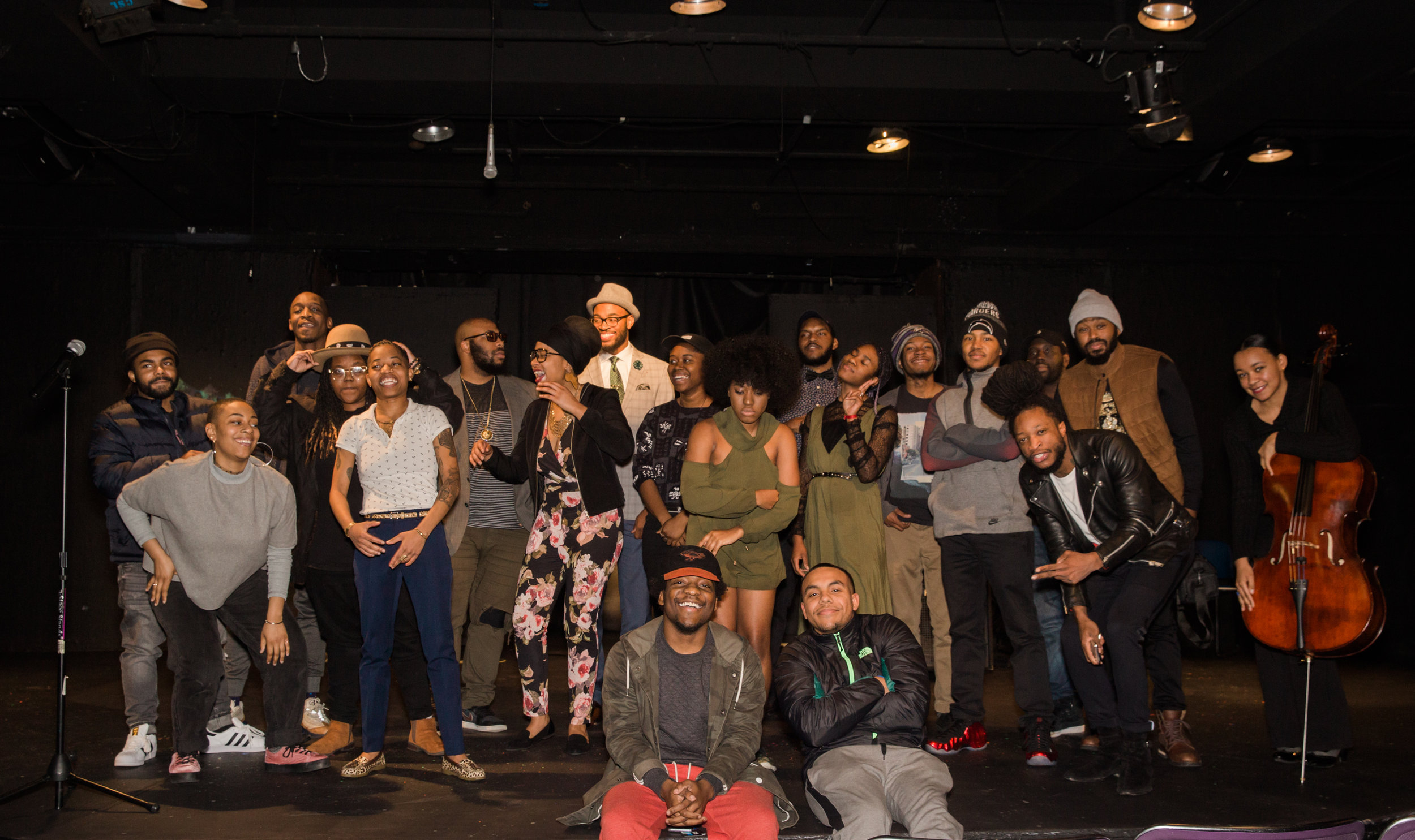 Group of Black Poets and Artists in Baltimore Poet Named Nate Poetry Photography-28.jpg